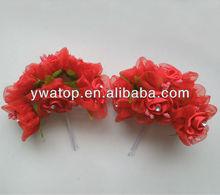 Handmade Fabric Flowers Organza Flowers