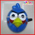 nova moda de plástico azul máscaras de aves para venda