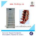Corda de navio de madeira escada com bv, ccs