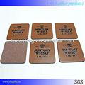 Silizium tabelle beschützer, runde tischsets stoff, pu tasse pad