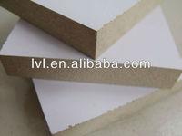 white laminated melamine MDF board sheet wood price