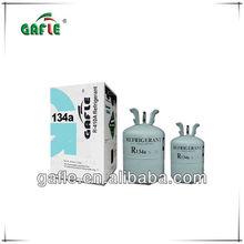 99.99% purity OEM factory car automobile R134a refrigerant gas 13.6kg/1kg/500g/340g/300g cylinder