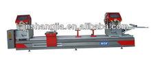 Aluminium profile CNC double head precision saw