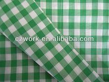 China lightweight shirt checks fabric with high quality