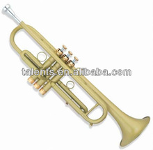 Suitable for professional groups Trumpet with Gold lacquered & Matt
