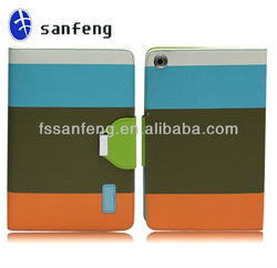 Hottest selling wallet leather case for ipad mini/alibaba China protect case for ipad tablet/for ipad mini accessories
