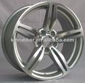 pcd 5x120 bmw réplica de roda de alumínio com acabamento em prata