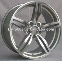 5X120 PCD BMW Replica Aluminum Wheel With Silver Finish