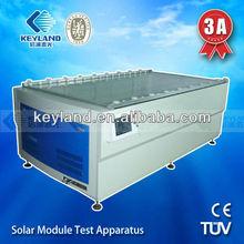 Touch screen xenon lamp 300,000 times sun simulator,solar module testing machinery