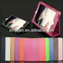 Folding Leather case for ipad mini ,High Quality Leather Case for ipad mini Tablet PC