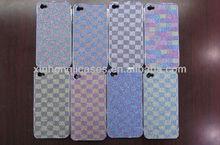 Luxury Bling Bling Glitter Diamond Chrome Hard Case For iphone 4/4s for iphone 5