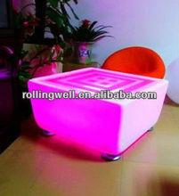2013 new design and beautiful led sofa/ led bar table/ nightclub/ led furniture
