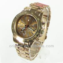 2013 new metal watch brand custom logo stainless steel watch factory