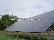 pile solar ground mount with 50kw or 100kw out put