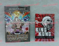 king kong incense bags,bling bling monkey potpourri bags