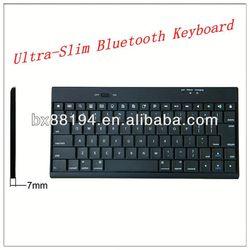 Plastic Wireless Bluetooth Keyboard arabic keyboard case for ipad