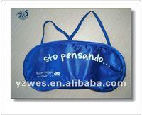 Satin with customized logo promotional eyeshade