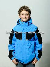 Hooded 3 in 1 unisex winter outdoor kid wear