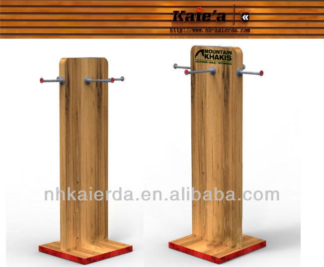 La mejor venta de madera MDF muebles para la tienda de ropa-Góndolas/Mostrado...