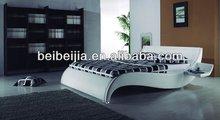 Soft circular bed