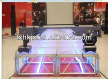 Aluminum transparent Mobile catwalk stage/ T- STAGE
