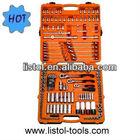"1/4"", 3/8 & 1/2""Dr.x 154pcs Super Lock Socket Wrench Set"