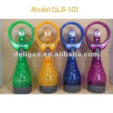 water bottle spray fan/portable water spray fan cooling you water spray fan
