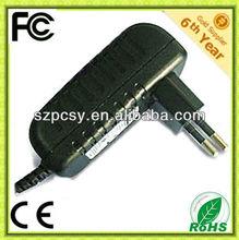 5v 2a 10w wall mounting ac/dc adapter with EU/AU/US/UK plug optional