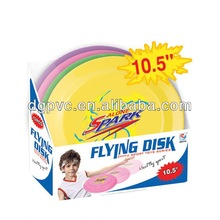 led outdoor flying disk ,promotional peg-top gifts, amusement park equipment rides