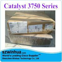 Cisco Catalyst WS-C3750G-12S-S Rack Mounted Switch