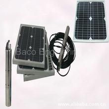 Vendita calda pompa acqua cc, cc di acqua solare pompa sommersa
