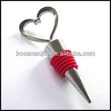 heart shaped red custom bar rubber