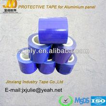 high quality blue color pe adhesive film scraps