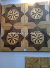 Commercial Oak&Birch Solid Wood Parquet Tile