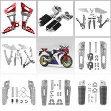 Motorcycle Footpeg Footrest for Honda Kawasaki Suzuki Yamaha BMW