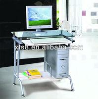 cheap glass office computer desk