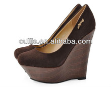 high platforms shoes for girls real leather special design CP6125