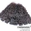 Caliente del pelo hermosa pura natural negro color de la armadura del pelo a granel