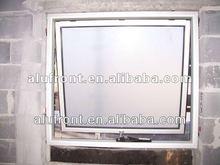 Elegant, fashion and European style aluminum top hung window
