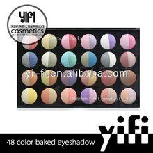 Professional! 48 color baked eyeshadow 6 pans eyeshadow makeup kit