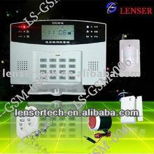 HOT Keypad Voice Remind GSM Alarm System LCD Screen Lenser
