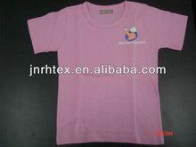 100% cotton plain color baby t-shirts