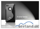 High quality S line TPU case for iphone 4 4S