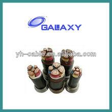 Producing double sheath fiber optical cable