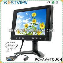 """8"""" Desktop 4:3 Monitor with VGA / BNC /AV"""