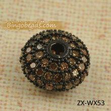 Real Quality CZ Crystal Beads For Bracelet CZ Crystal Bracelet Zircon Crystal Beads Zircon Bracelet