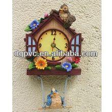 led clock with radio ,3d wall clock panel, porcelain wall clock