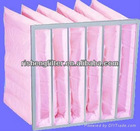 middle efficiency F8 air bag filter for home
