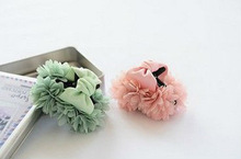 cute newest fabric flower hair band,fashion hair claw for girls,woman
