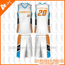 Fancy basketball club uniform /wear design